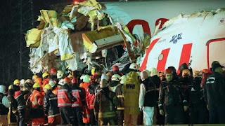 حادث تحطم الطائرة التركية.. شهادات الركاب تكشف تفاصيل مثيرة