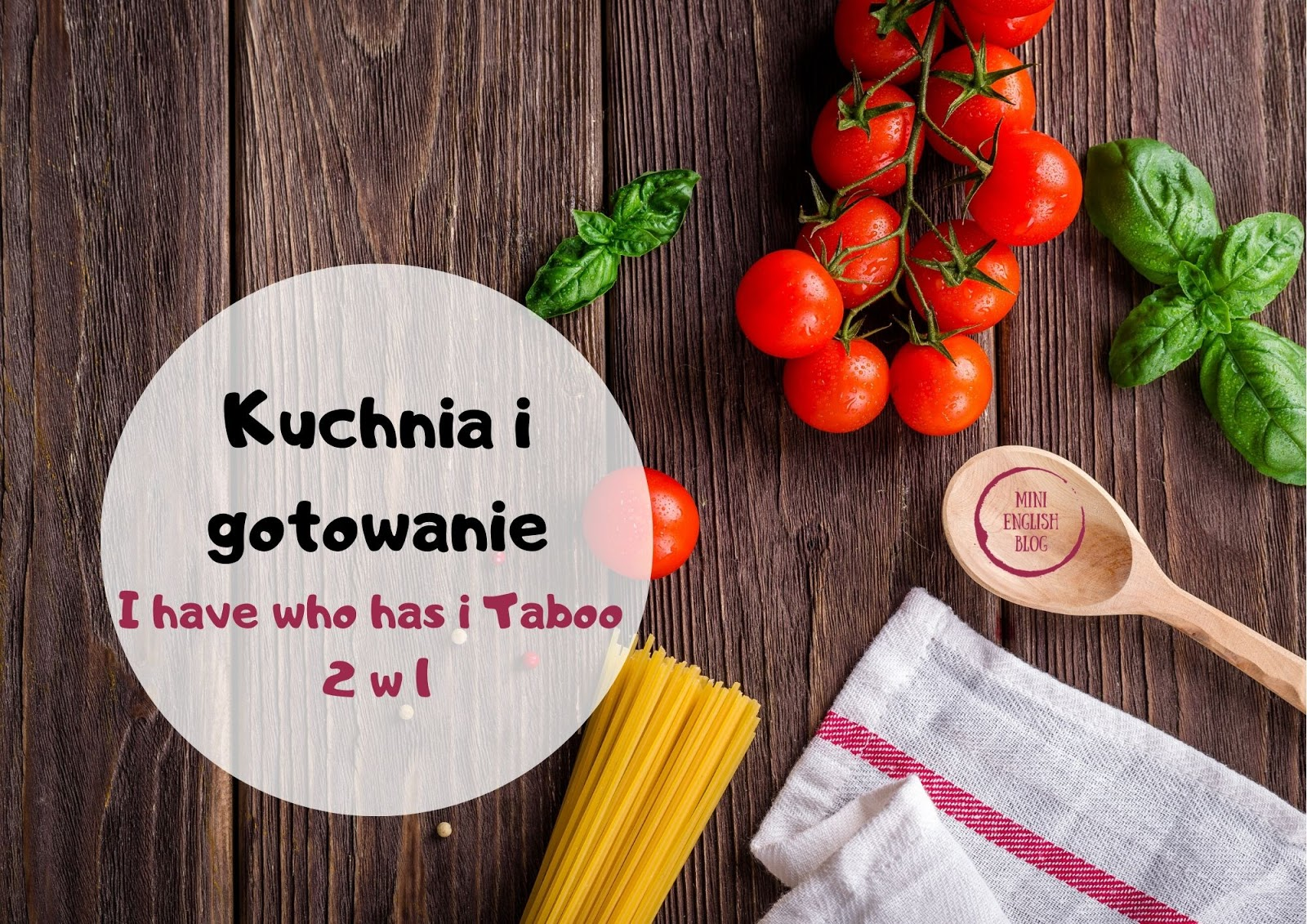 I have who has i Taboo 2w1. Wyposażenie kuchni i gotowanie