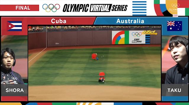 eBaseball Powerful Pro Baseball 2020 dive catch fail SHORA TAKU Cuba