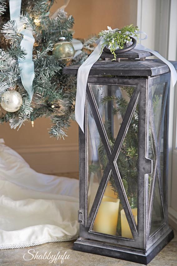 restoration hardware lanterns christmas