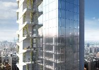 Rendering dell'edificio