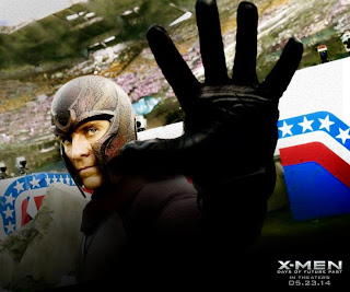 Michael Fassbender as Magneto Erik Lehnsherr in X Men Days of Future Past