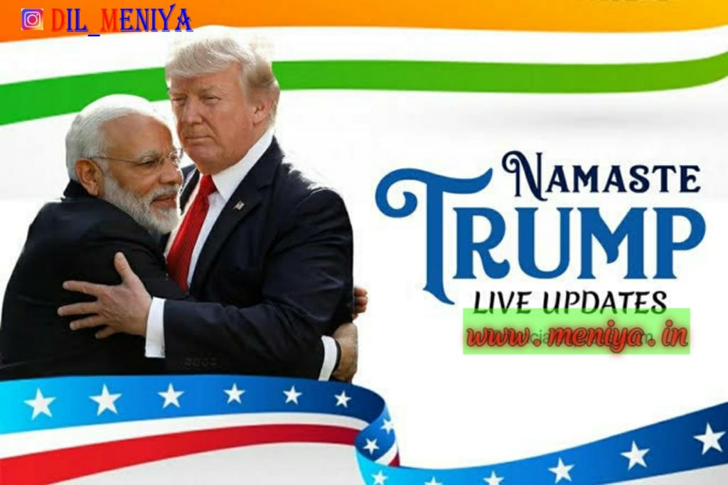 Namaste Trump Live updates