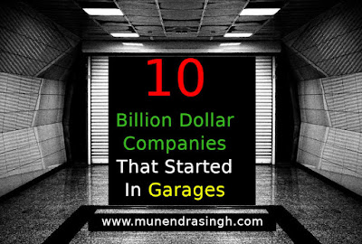10 Billion Dollar Companies That Started In Garages
