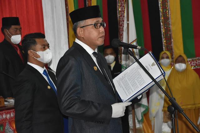 Gubernur Aceh Lantik Dailami Sebagai Wakil Bupati Bener Meriah Sisa massa Jabatan 2017-2022