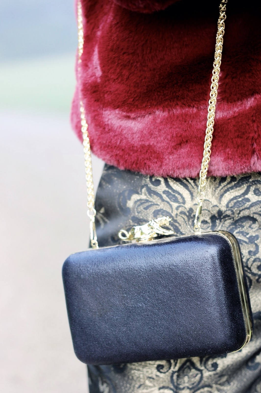 NYE Masquerade Party Fashion Blogger Styling