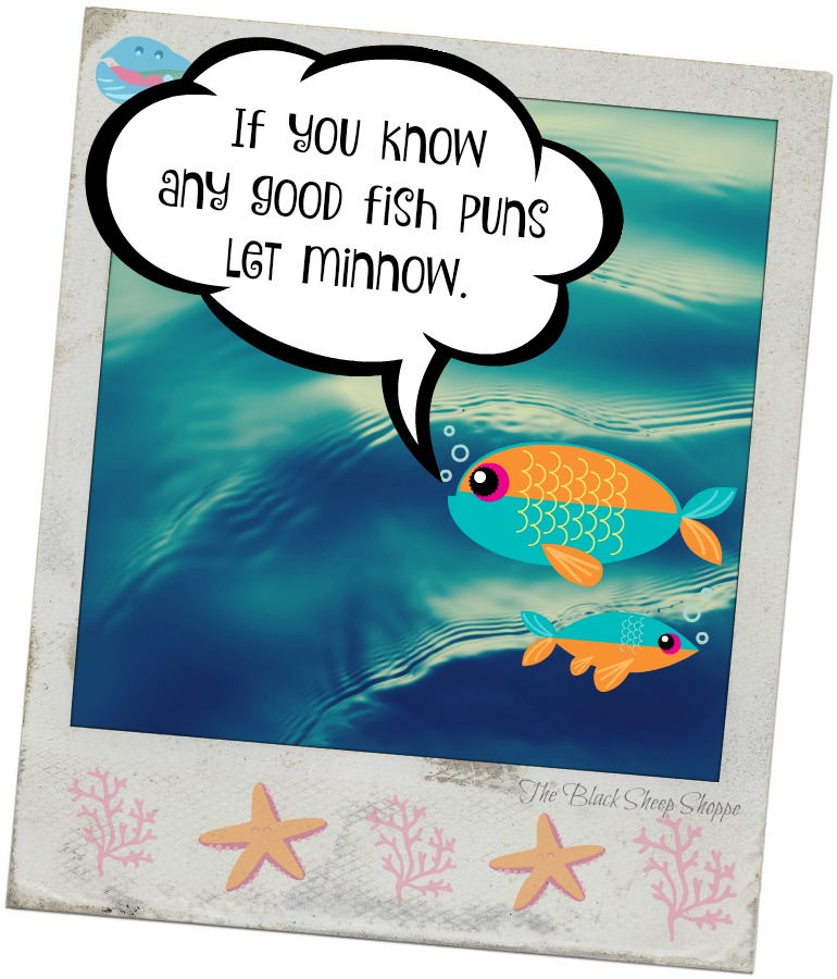 If you know any good fish puns let minnow.