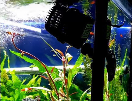 How to position a wavemaker in aquarium