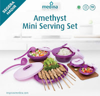 Dusdusan Amethyst Mini Serving Set ANDHIMIND