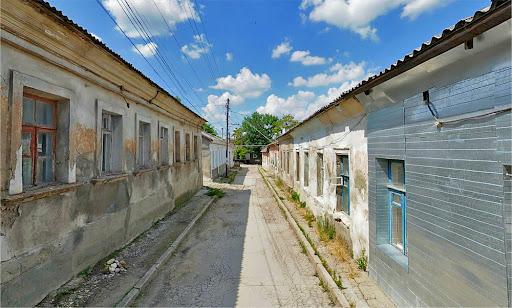 Улица Белогорская в Симферополе