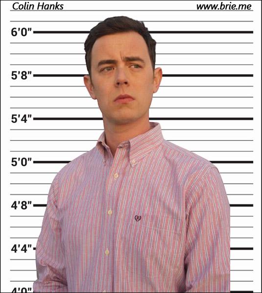 Colin Hanks mugshot