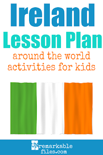 Building the perfect Ireland lesson plan for your students? Are you doing an around-the-world unit in your K-12 social studies classroom? Try these free and fun Irish activities, Celtic crafts, books, and free printables for teachers and educators! #Ireland #lessonplan