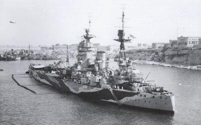 My Dad's War.: HMS Rodney.