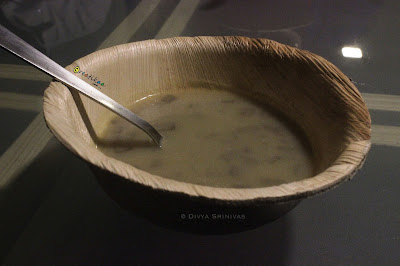 Green cafe - organic restaurant - plantain stem soup