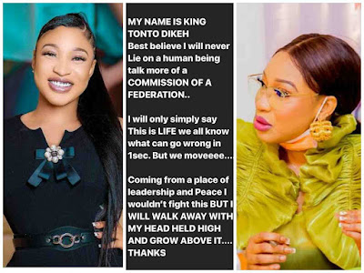 NCPC Appoints Tonto Dikeh As Their Ambassador For Peace