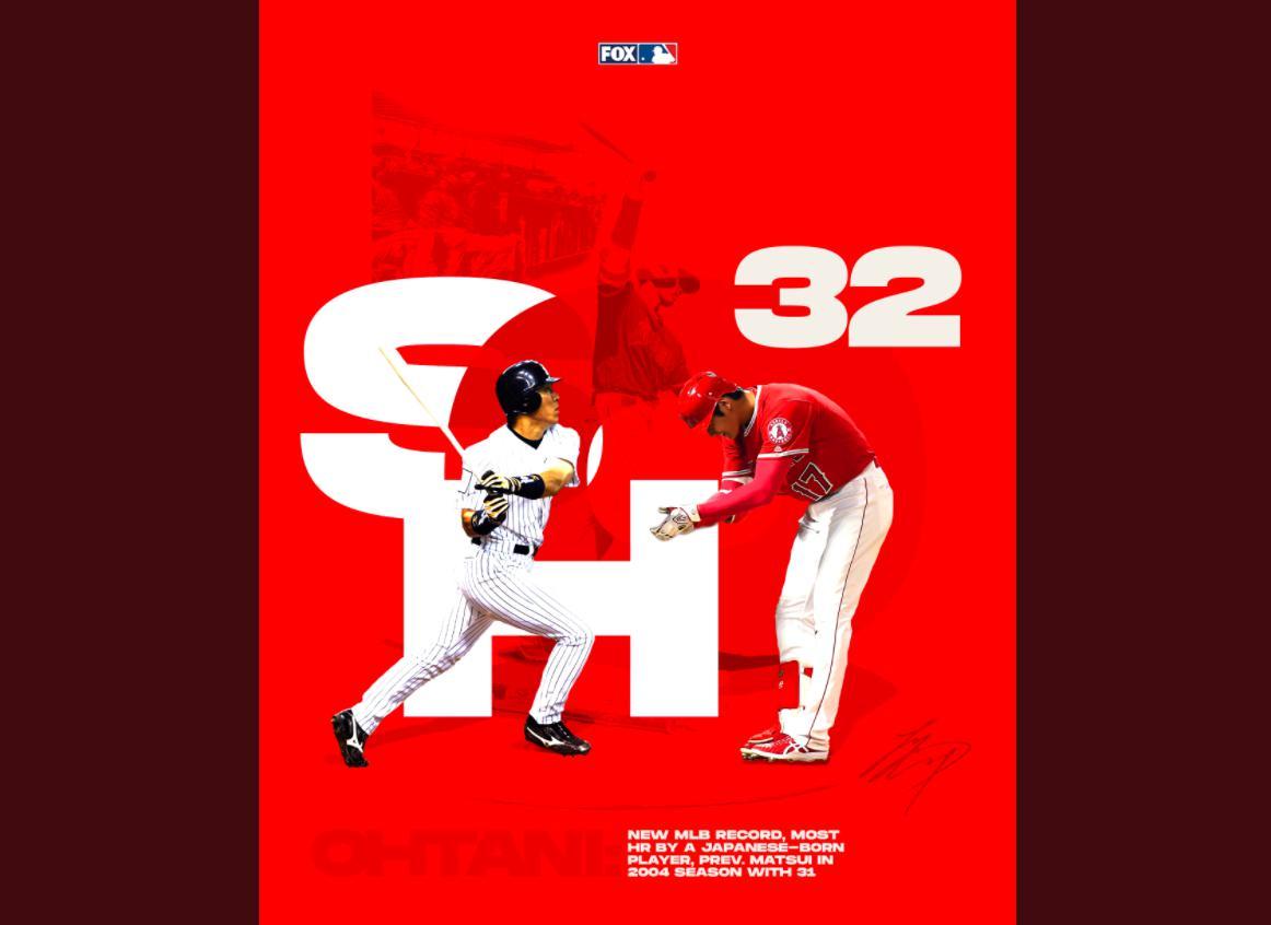 大谷翔平が32号ホームランで松井超え新記録、エンゼルス実況スレの翻訳(海外の反応)