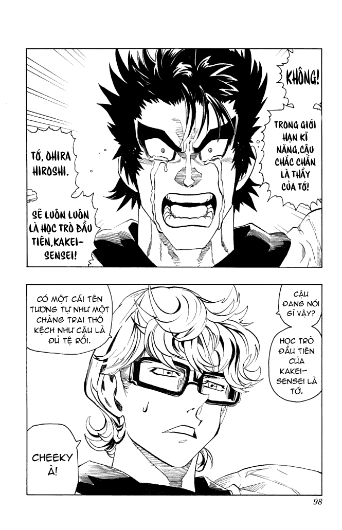 Eyeshield 21 chapter 119 trang 19