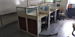 Furniture Semarang   Pesanan Parts Tambahan Meja Sekat Knockdown