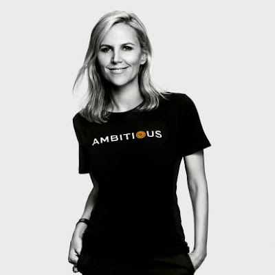 Tory Burch in Ambition campaign shirt