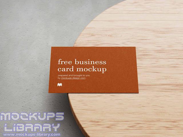 free business card mockup 2