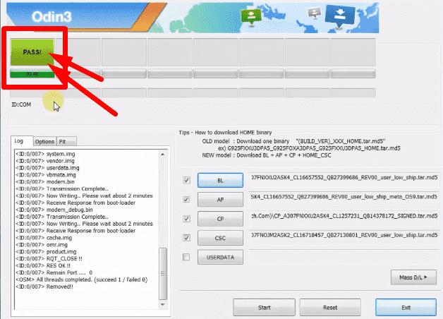 طريقة عمل سوفتوير لهاتف samsung A30s A307FN حماية u2 مع تحميل ملف السوفتوير