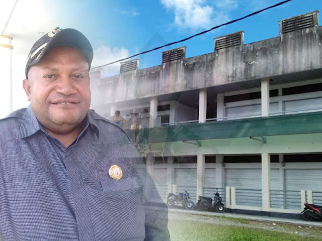 Dewan Minta 2 Bangunan di Pasar Sentral Timika Segera Difungsikan