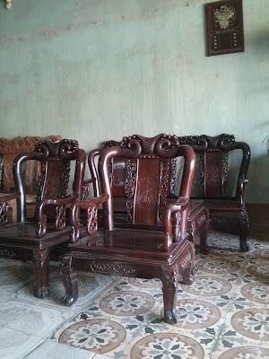 bán bàn ghế gỗ trắc cũ
