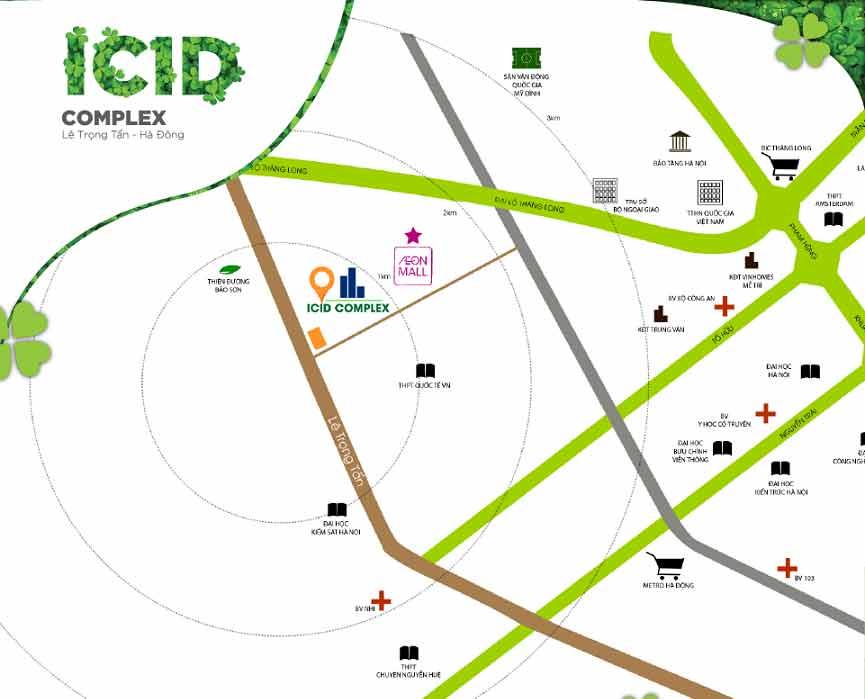 Chung cư ICID Complex Hà Đông