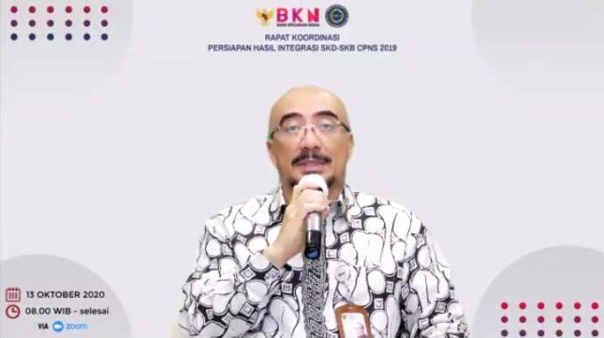 BKN Jadwalkan Rekonsiliasi Hasil Integrasi Nilai SKD-SKB CPNS 2019 pada 19-23 Oktober 2020