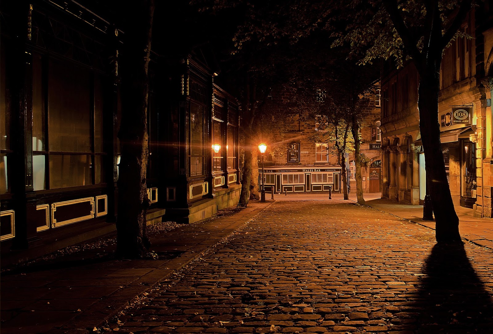 Seara pe stradă
