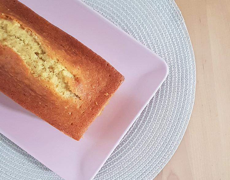 Cake vanille cuit