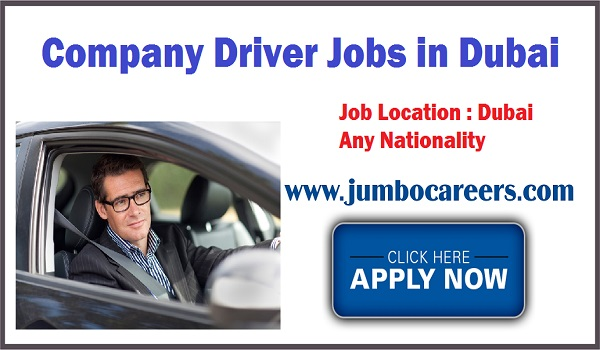 Perfect company driver jobs, Gulf jobs details,