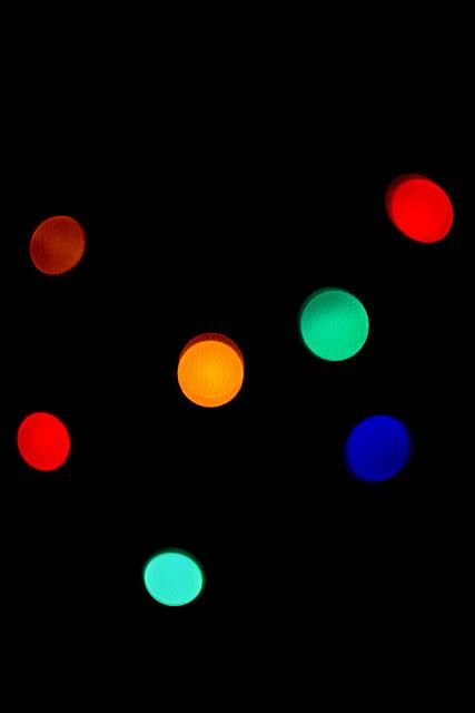 Światło. Niefiguratywna kompozycja abstrakcyjna. Kolorowa fotografia odklejona. fot. Łukasz Cyrus