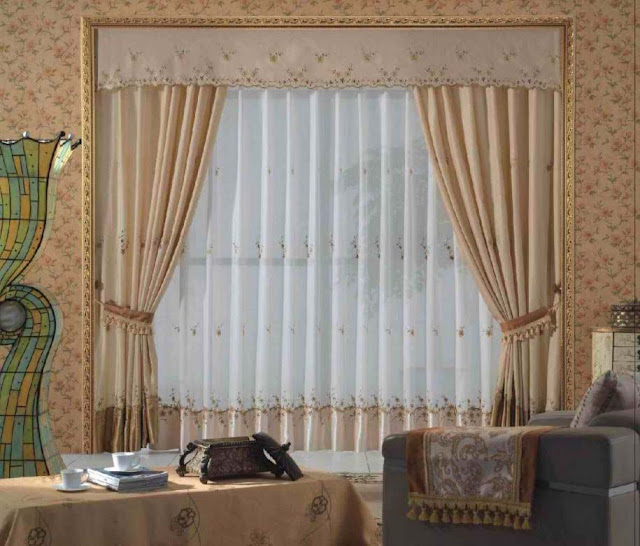 Contoh gorden untuk design interior apartemen minimalis