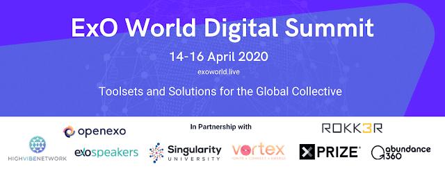 El Ecosistema de Transformación Global @OpenExO Anuncia el #ExOWorld Digital #Summit