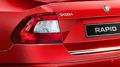 2017 Skoda Rapid Monte Carlo Rear Taillight