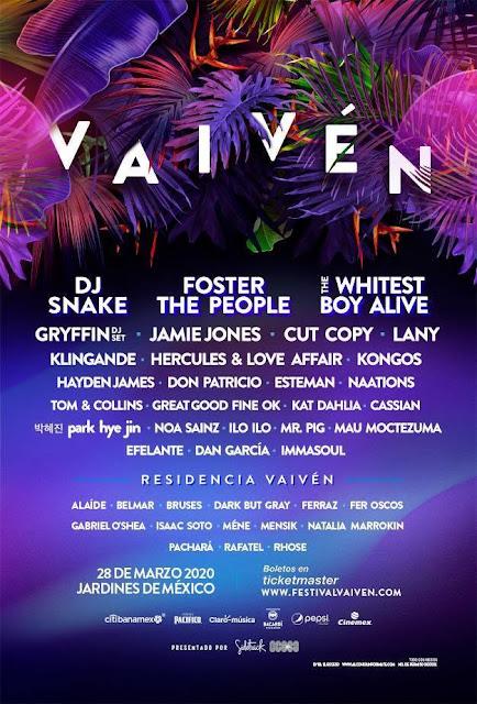 artistas festival vaivén 2020