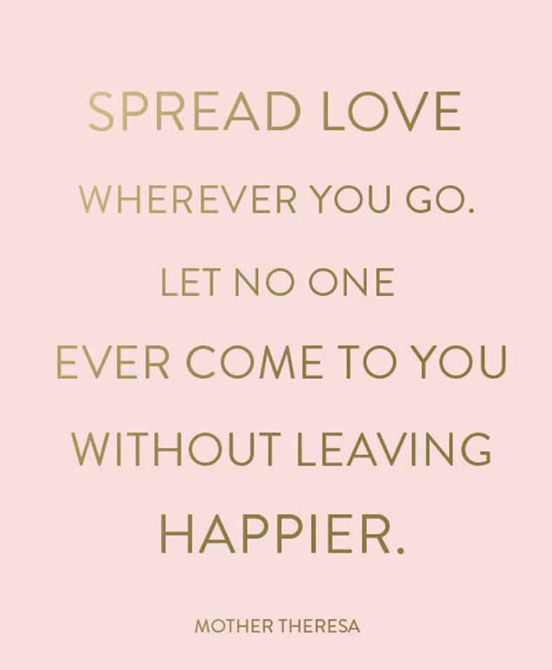 Spread Love Quotes