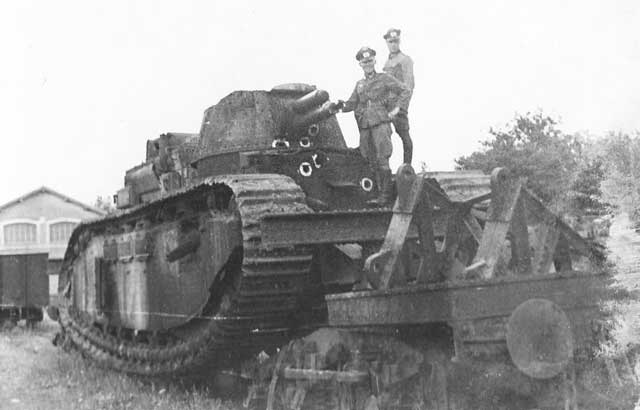 French Char 2C tank worldwartwo.filminspector.com