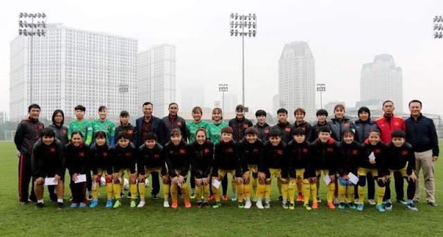 Đội tuyển bóng đá nữ Việt Nam nghỉ Tết nguyên đán Canh Tý