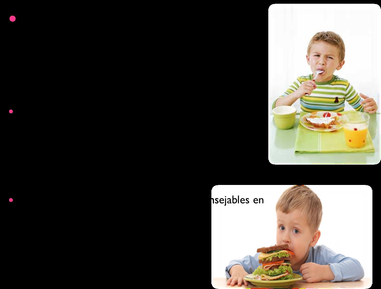 Dieta ninos de 6 a 12 anos