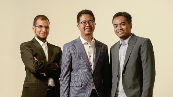 Kisah Tiga Anak Muda RI Pendiri Aplikasi Transfer Uang Gratis Biaya Admin
