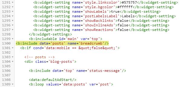 Membuat Breadcrumb Microdata Schema.org Dengan Ikon SVG