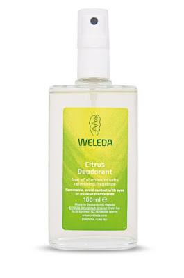 weleda natural deodorant