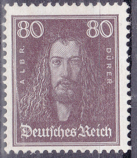 Germany Deutsches Reich 1926 Famous Germans Albrecht Dürer