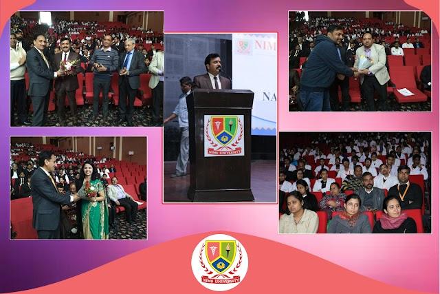 Anti-Ragging Seminar by Nims Dental College and Hospital
