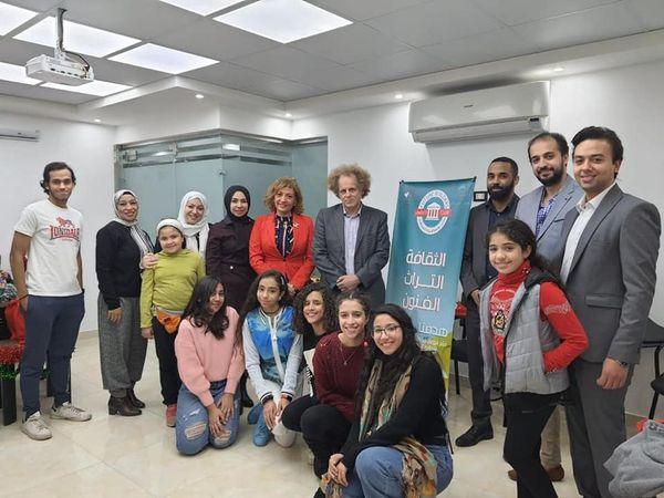 بالصور  .. ريهام جعفر توقع بروتوكول تعاون مع نادى يونسكو بناه المستقبل
