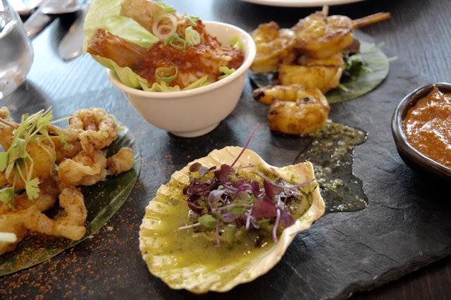 Mango Tree review seafood platter