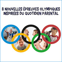 8 nouvelles épreuves olympiques inspirées du quotidien parental