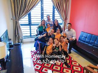 Warih-Homestay-Team-Karate-Sabah-Check-In